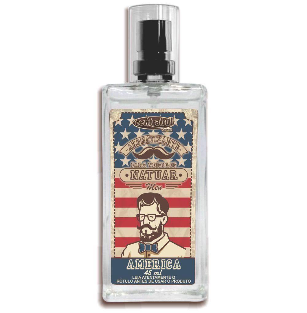 Aromatizante Spray Natuar Men America 45ml Centralsul