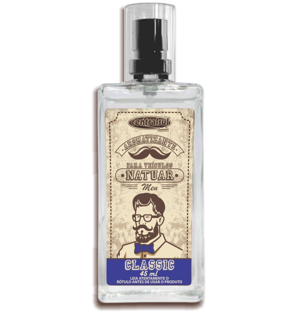 Aromatizante Spray Natuar Men Classic 45ml Centralsul