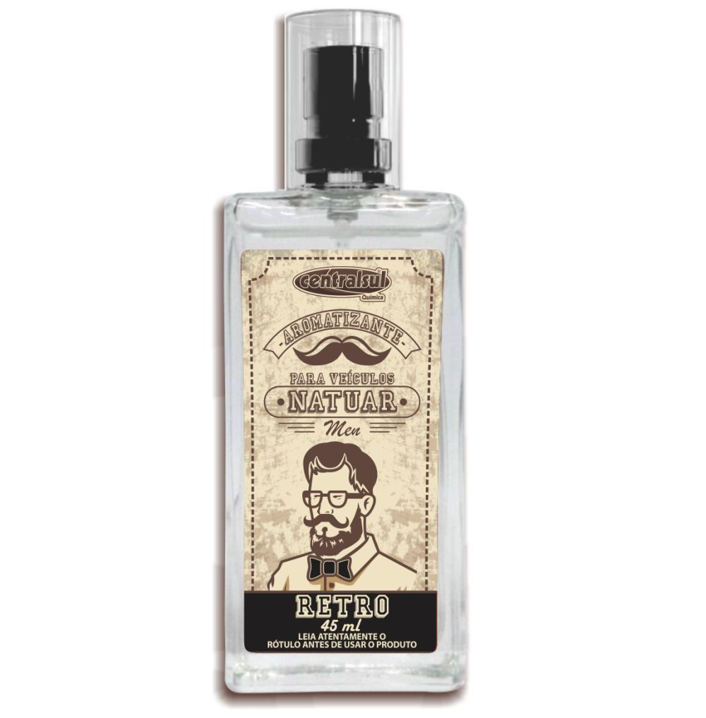 Aromatizante Spray Natuar Men Retro 45ml Centralsul