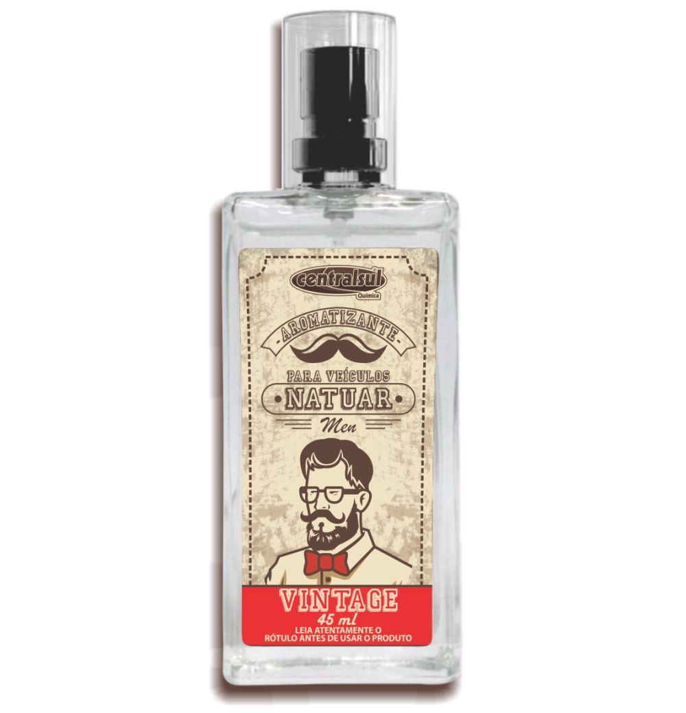Aromatizante Spray Natuar Men Vintage 45ml Centralsul