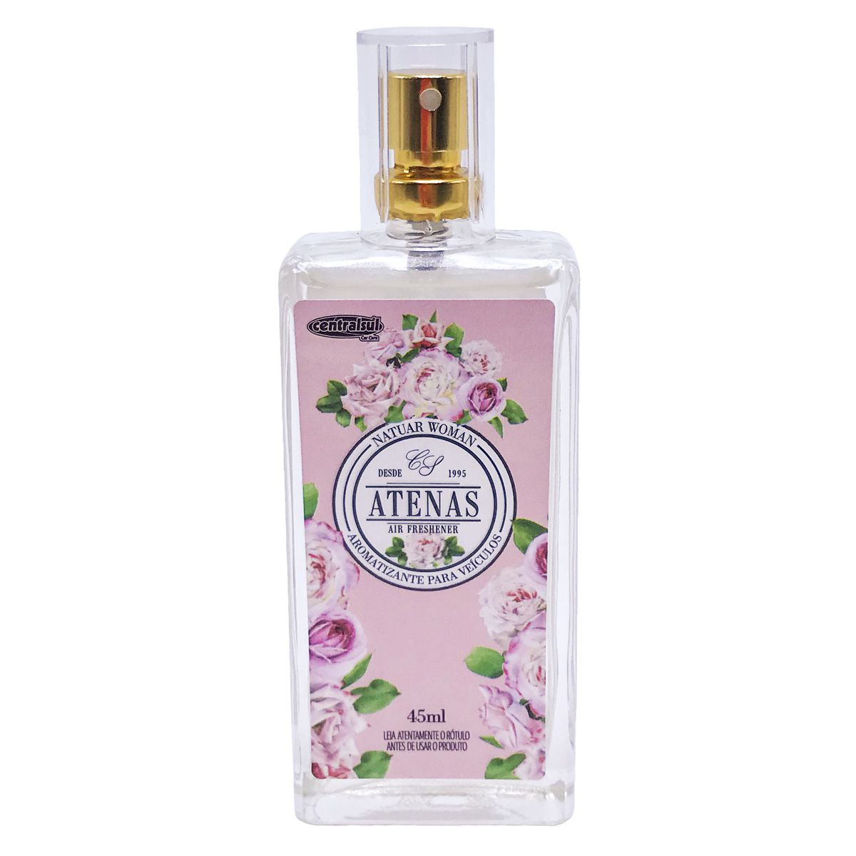 Aromatizante Spray Natuar Woman Atenas 45ml Centralsul