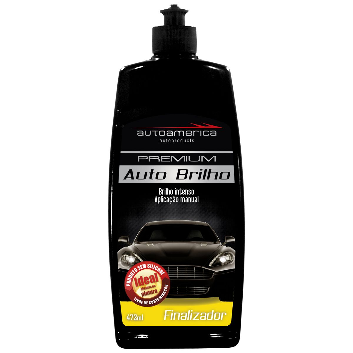 Auto Brilho Premium Finalizador Autoamerica 473ml