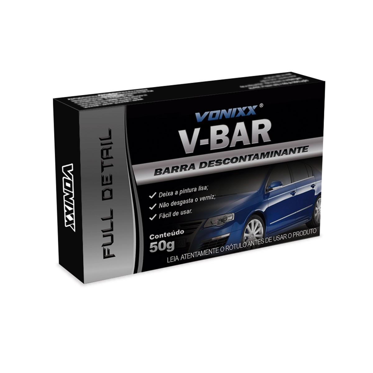 Barra Descontaminante V-Bar 50g Vonixx