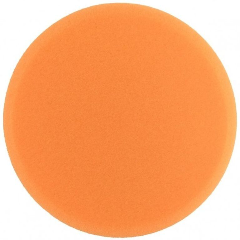 Boina De Espuma Laranja Agressiva Buff and Shine 5,5 pol