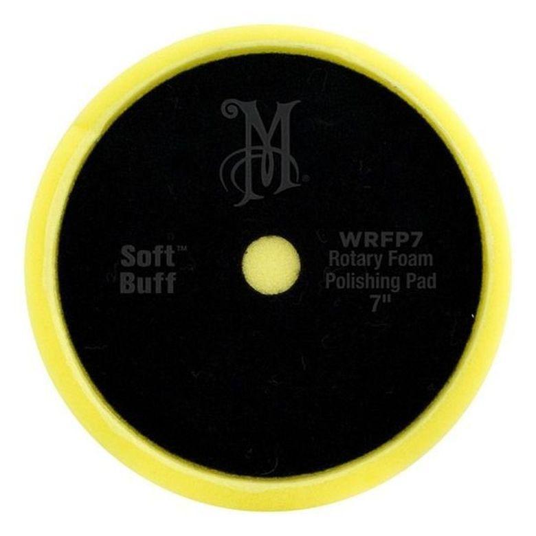 Boina de Espuma Macia 7pol WRFP7 Amarela Meguiars