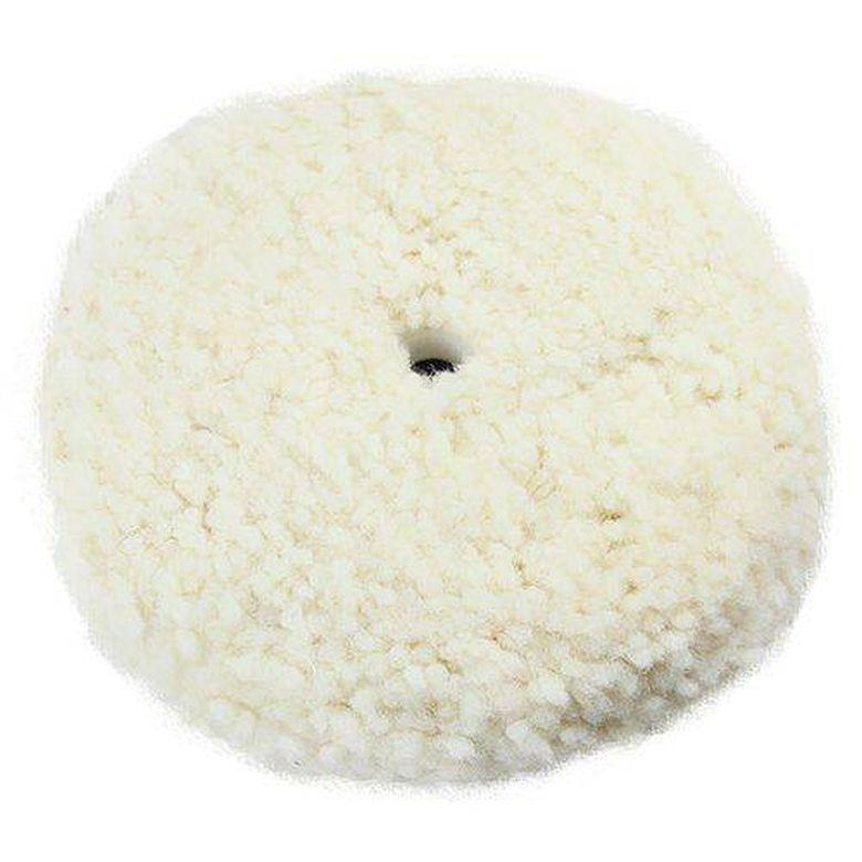 Boina de lã Dupla Face Fio Branca 5 pol Tipo Exportação New Polish