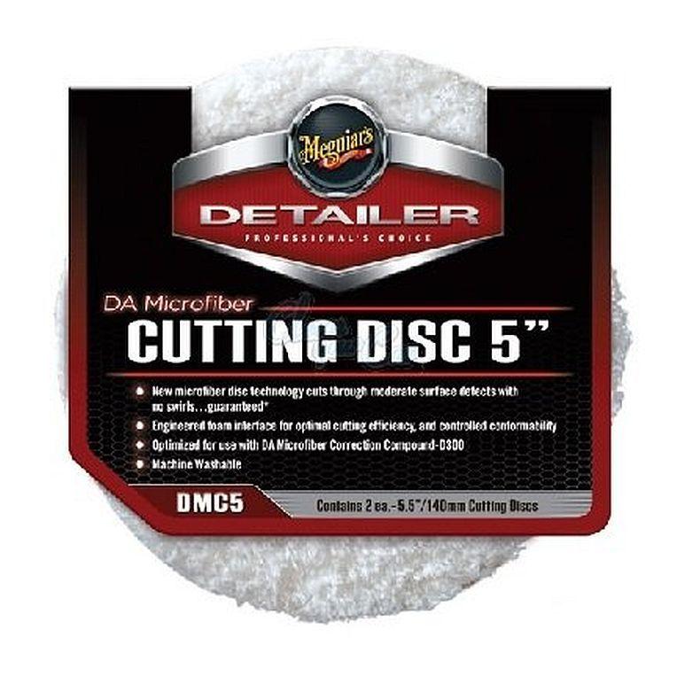 Boina De Microfibra (Corte) Disc 5 Polegadas Meguiars Dmc5 (1 Unidade)