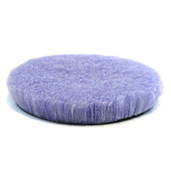 Boina de Lã Roxa 3 pol Purple Foam Wool Lake Country