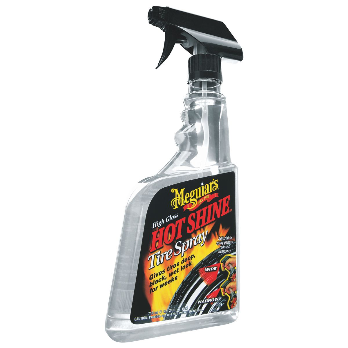 Brilha Pneu Hot Shine Meguiars G12024 Tire Spray 710ml