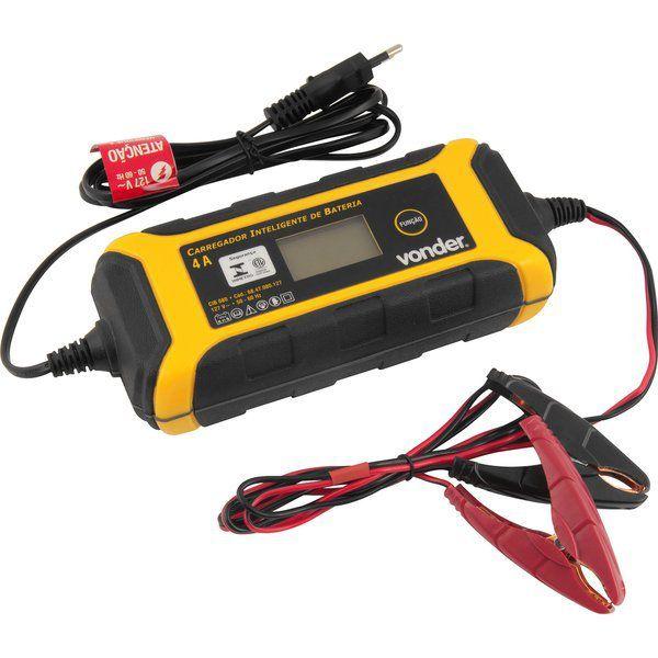Carregador Inteligente de Bateria Cib 080 - 127v Vonder