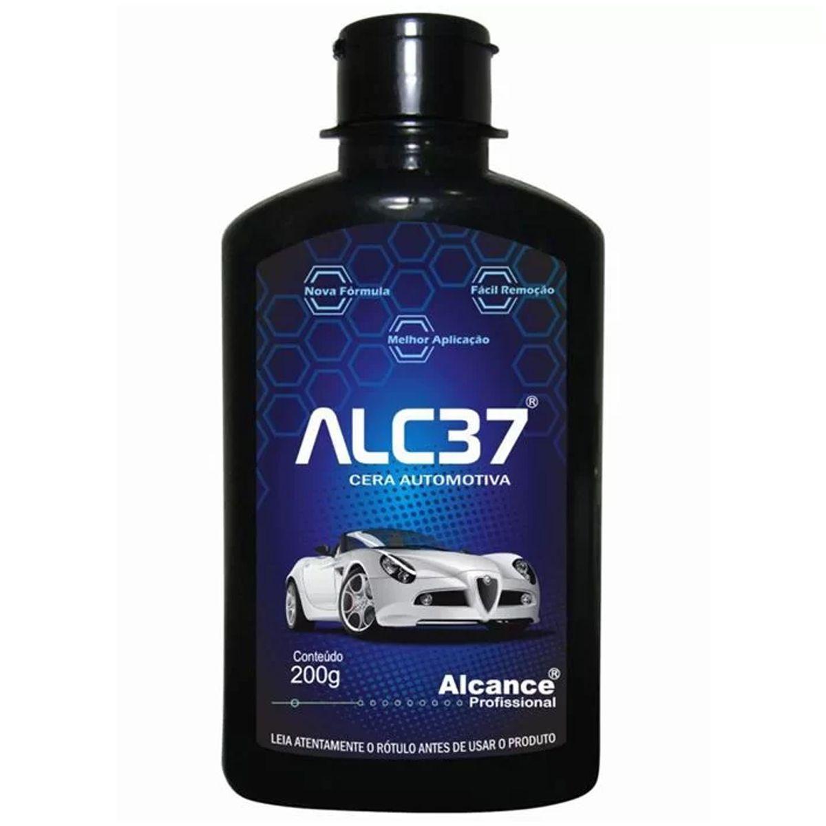 Cera Automotiva Alc37 200ml Alcance