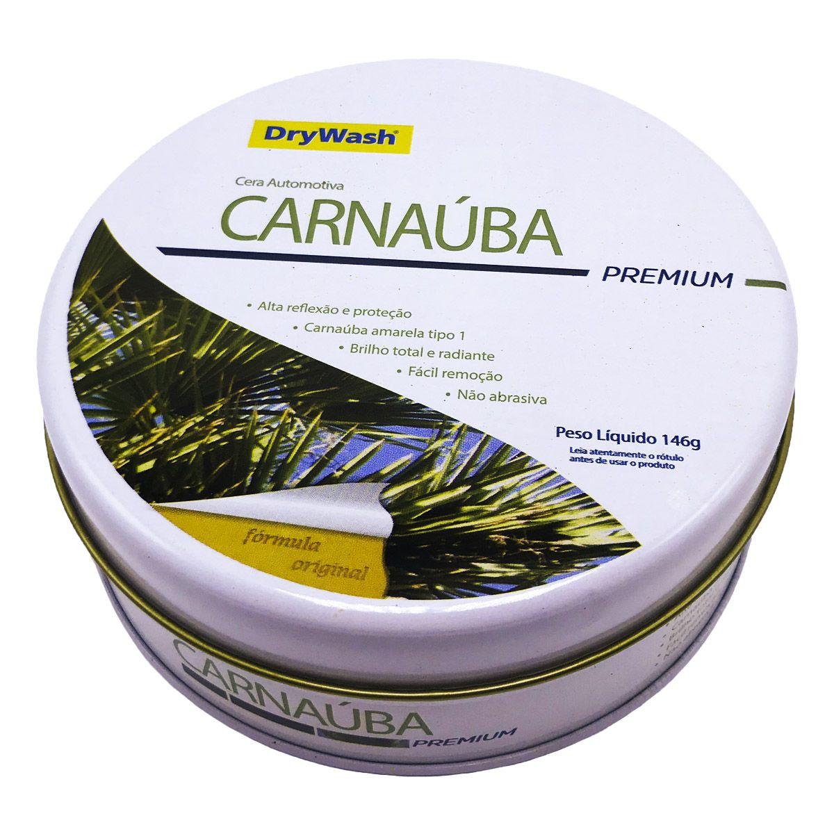 Cera Carnaúba Premium Drywash 146g