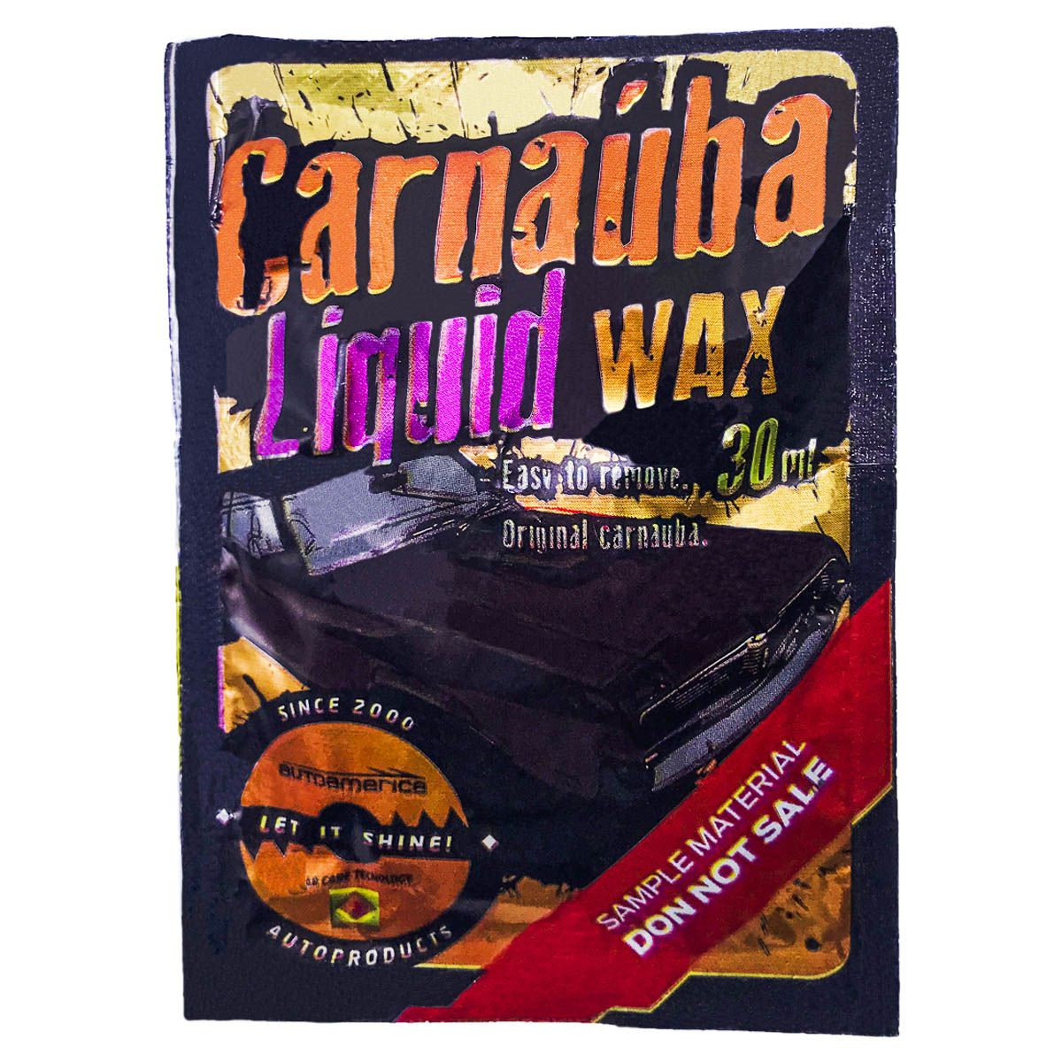 Cera de Carnaúba Liquid Wax 30ml Autoamerica