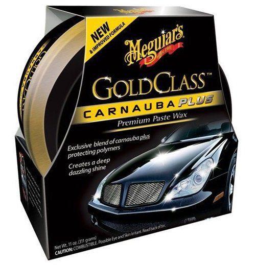 Cera Gold Class + Cleaner Wax Meguiars + 2 flanelas 40x60 Autoamerica