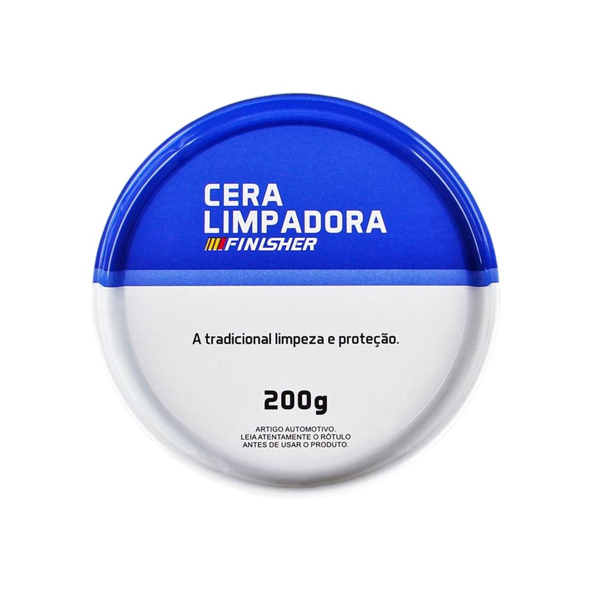 Cera Limpadora 200g Finisher