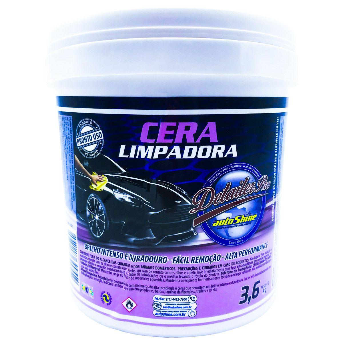 Cera Limpadora 3,6Kg Autoshine