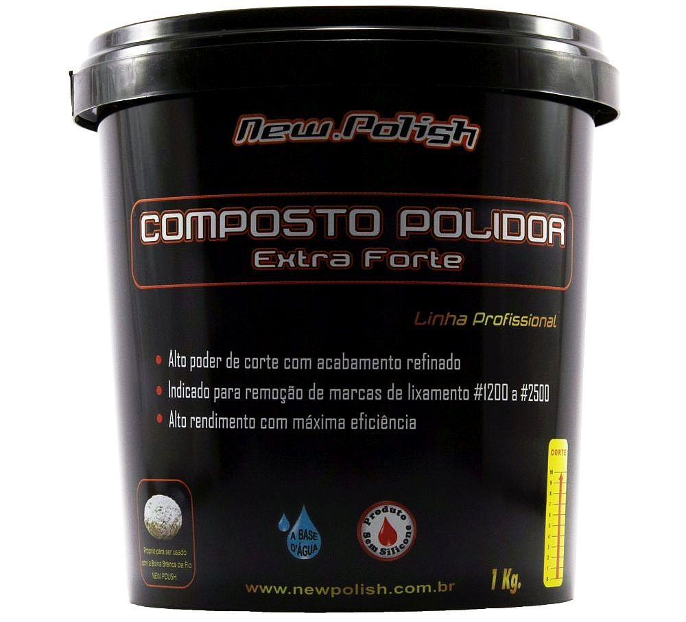 Composto Polidor 1kg New Polish
