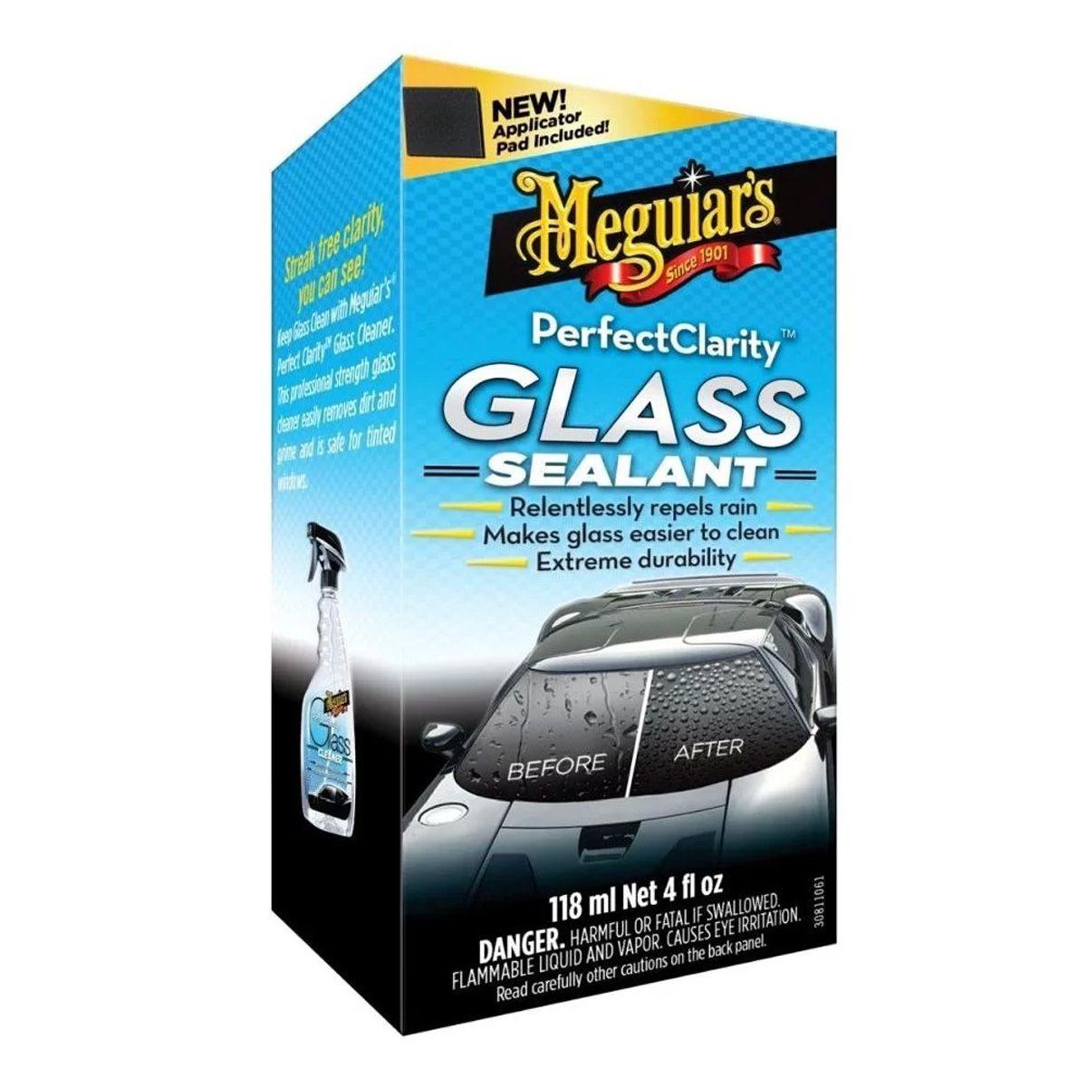 Cristalizador de Vidros Perfect Clarity Glass Sealant 118ml Meguiars