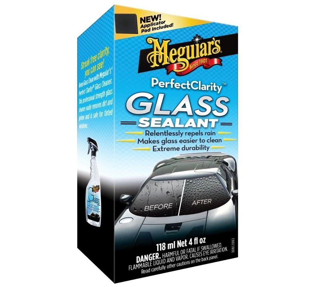 Cristalizador de Vidros Perfect Clarity Glass Sealant 118ml Meguiars + Camisa Brinde