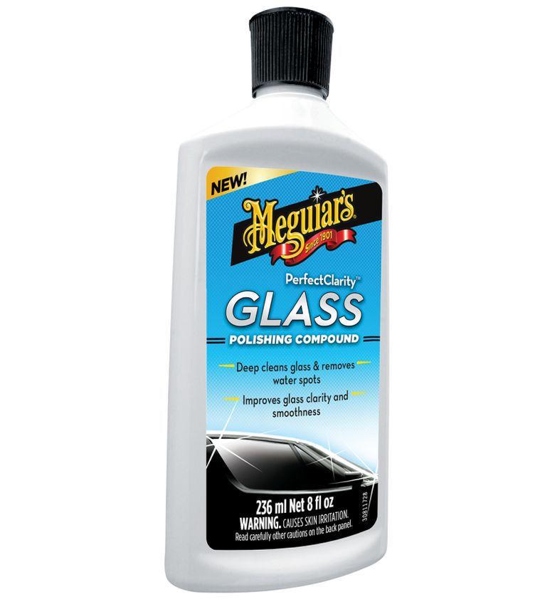 Descontaminante De Vidro Glass Polishing Compound 236ml Meguiars  + Camisa Brinde