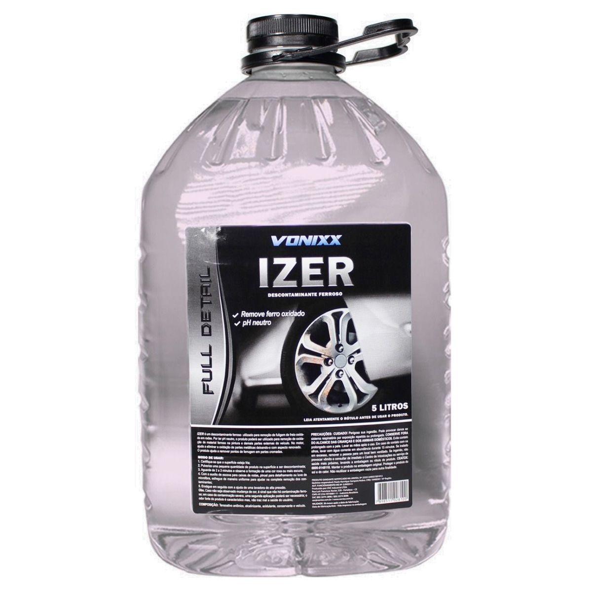 Descontaminante Ferroso Izer 5 Litros Vonixx
