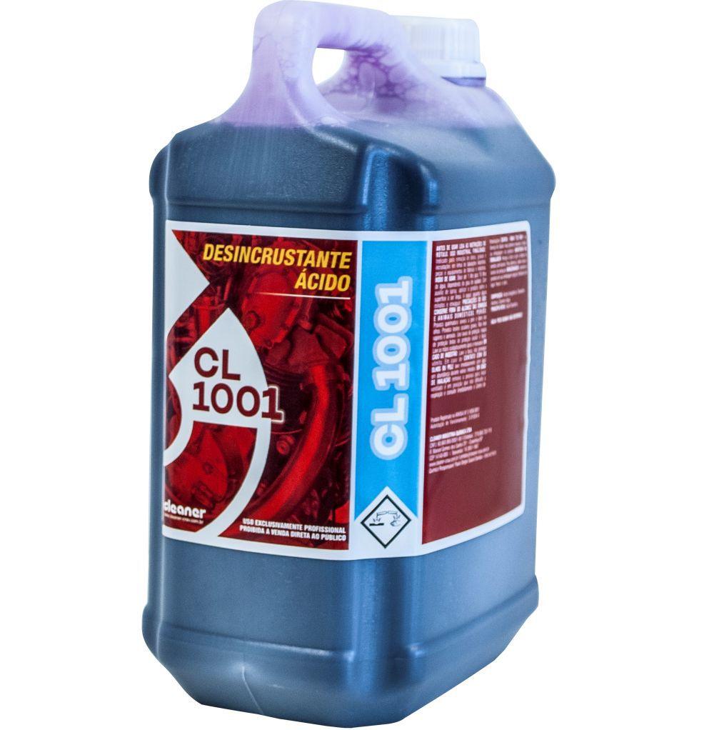 Desengraxante Super Concentrado 1-100 (Ativado Cl 1001) Cleaner (5 Litros)