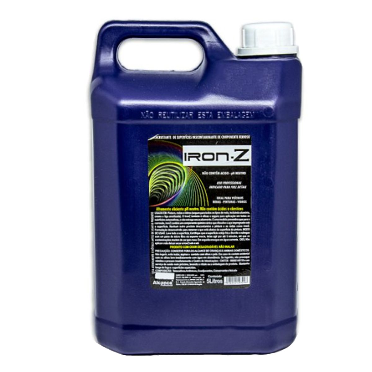 Desincrustante e Descontaminante Profissional Iron-Z 5 Litros Alcance