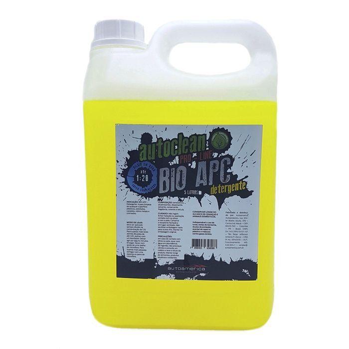 Detergente Autoclean 1-20 Bio Apc 5 Litros Autoamerica