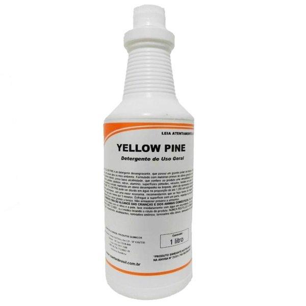 Detergente Desengraxante Yellow Pine Spartan 1 Litro