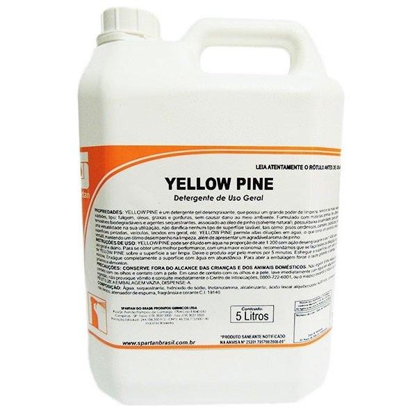 Detergente Desengraxante Yellow Pine Spartan 5 Litros