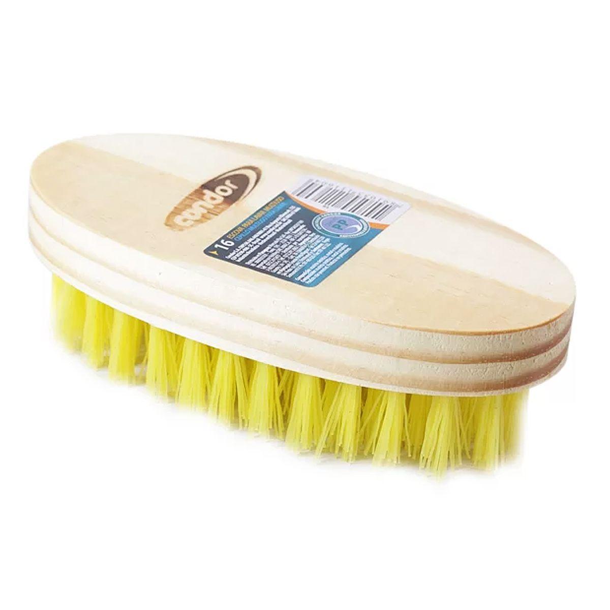 Escova Cerdas Duras para Limpeza de Estofado 16 Condor