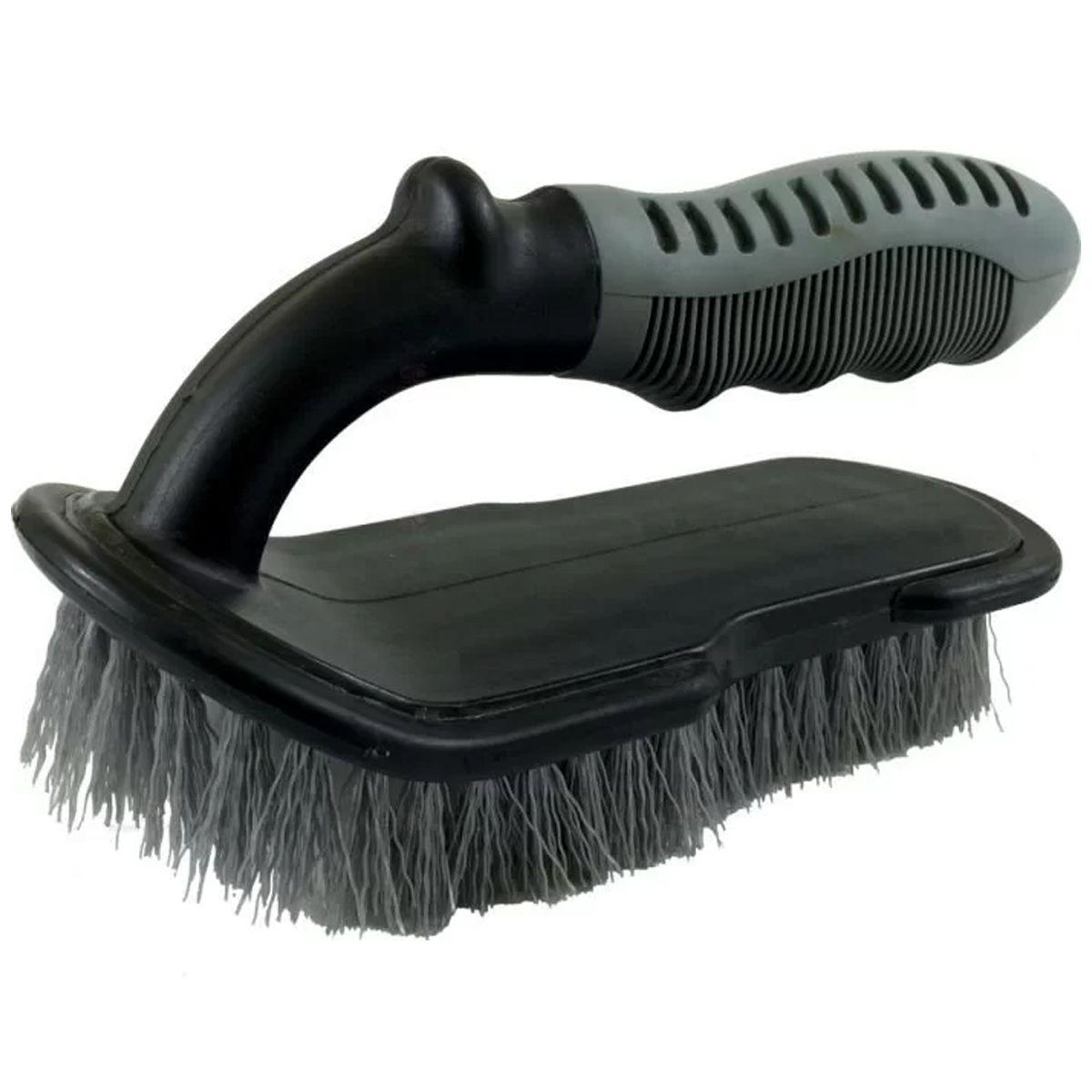 Escova de Cerdas Duras para Limpeza de Carpetes e Tecidos Mandala