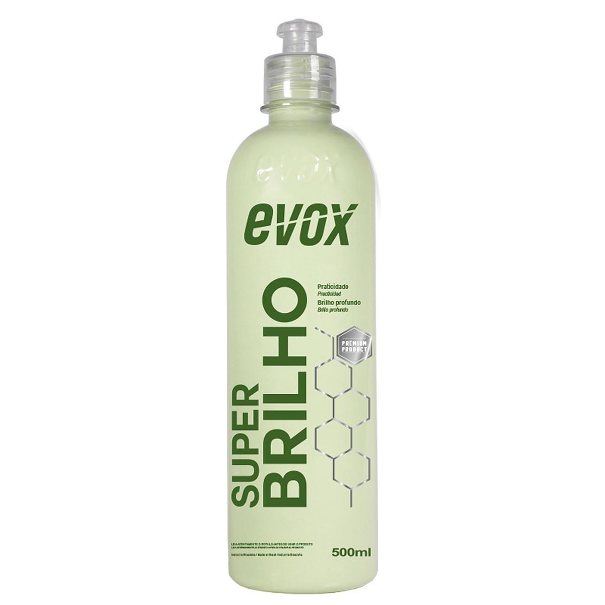Finalizador para Repintura Automotiva Super Brilho 500ml Evox