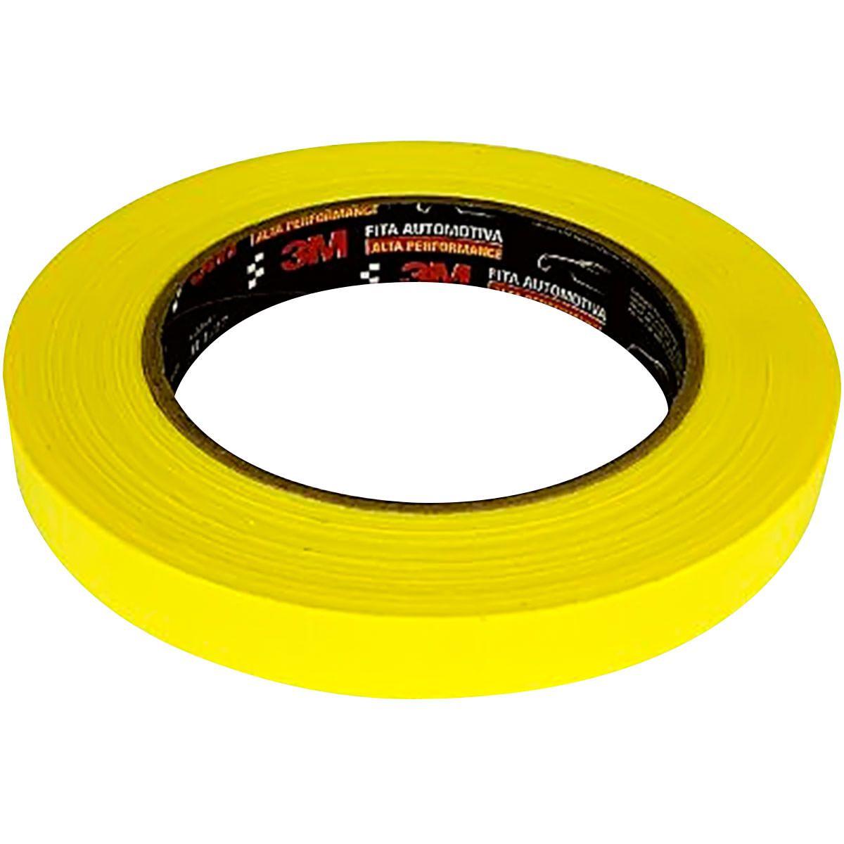 Fita Crepe Amarela 24x40 3M