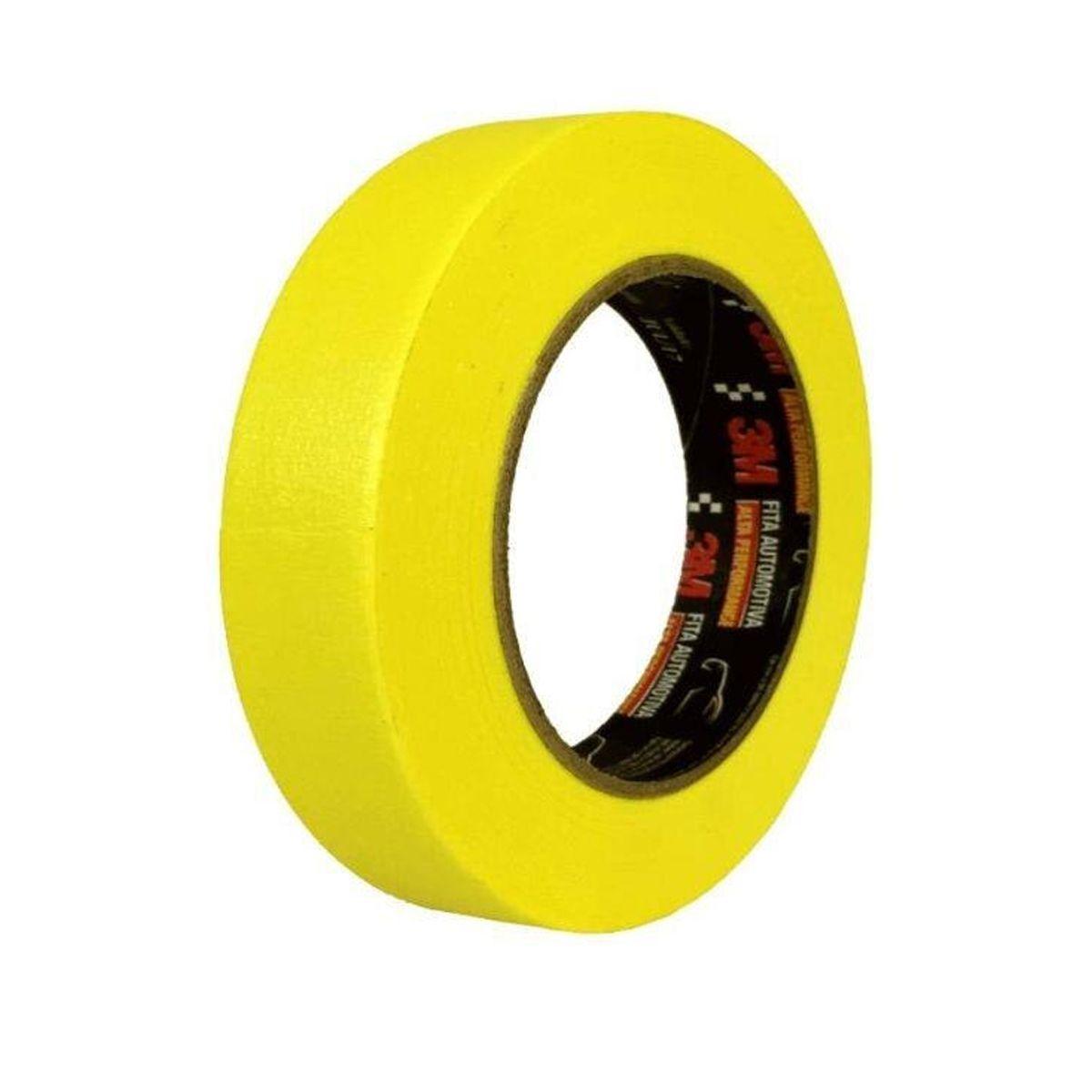 Fita Crepe Amarela 48x40 3M