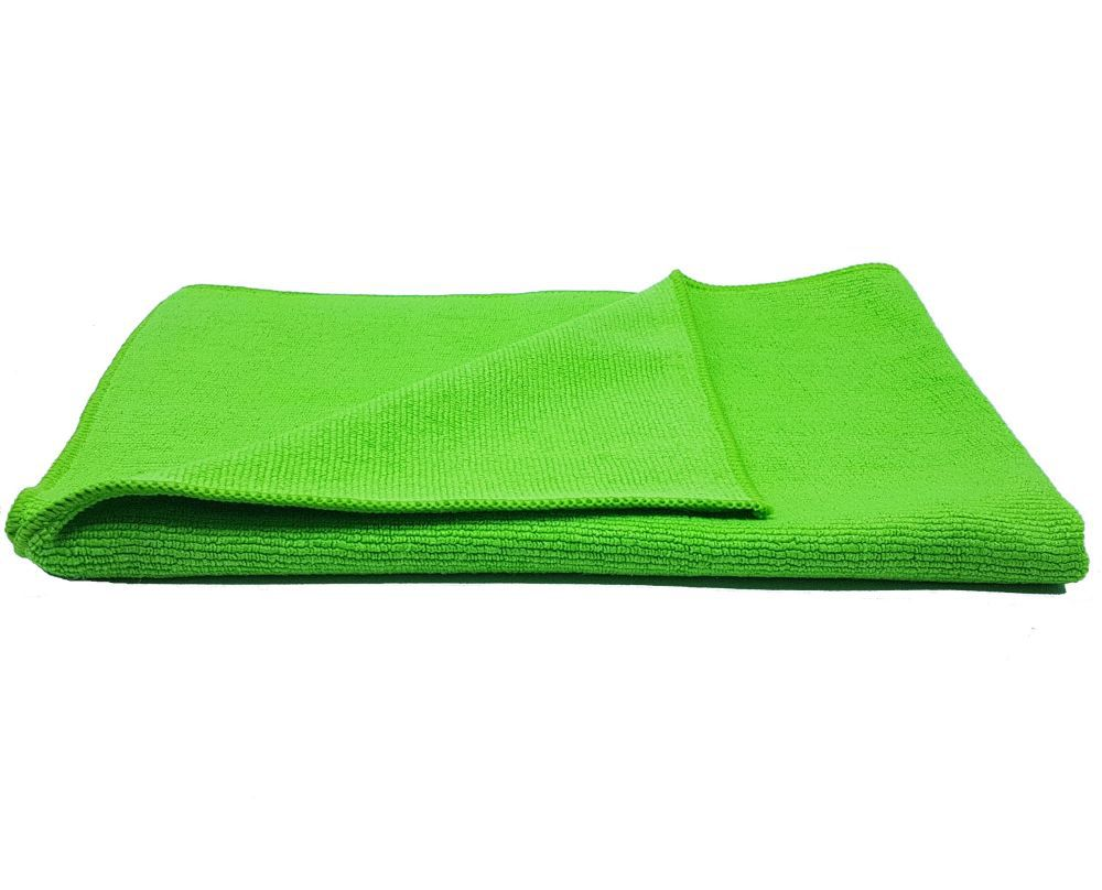 Flanela De Microfibra Com Costura 340Gsm Verde 40x60 Protelim