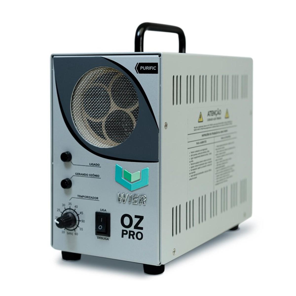 Gerador de Ozonio Purific Oz Pro 20 g/h Bivolt Wier