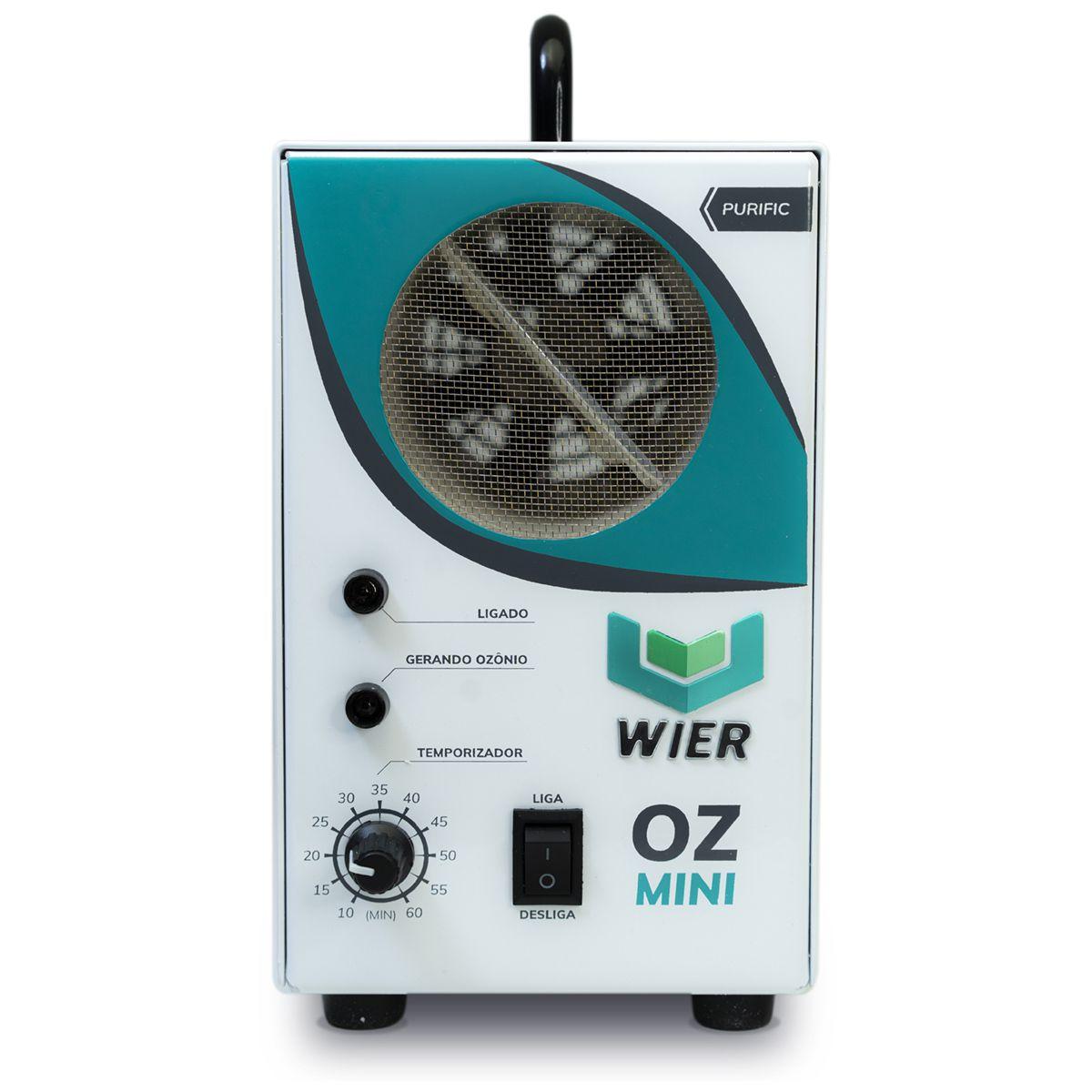 Gerador de Ozonio Purific OZmini Bivolt Wier