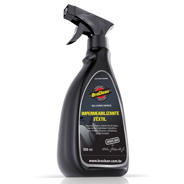 Impermeabilizante Textil Car Care 500ml Braclean