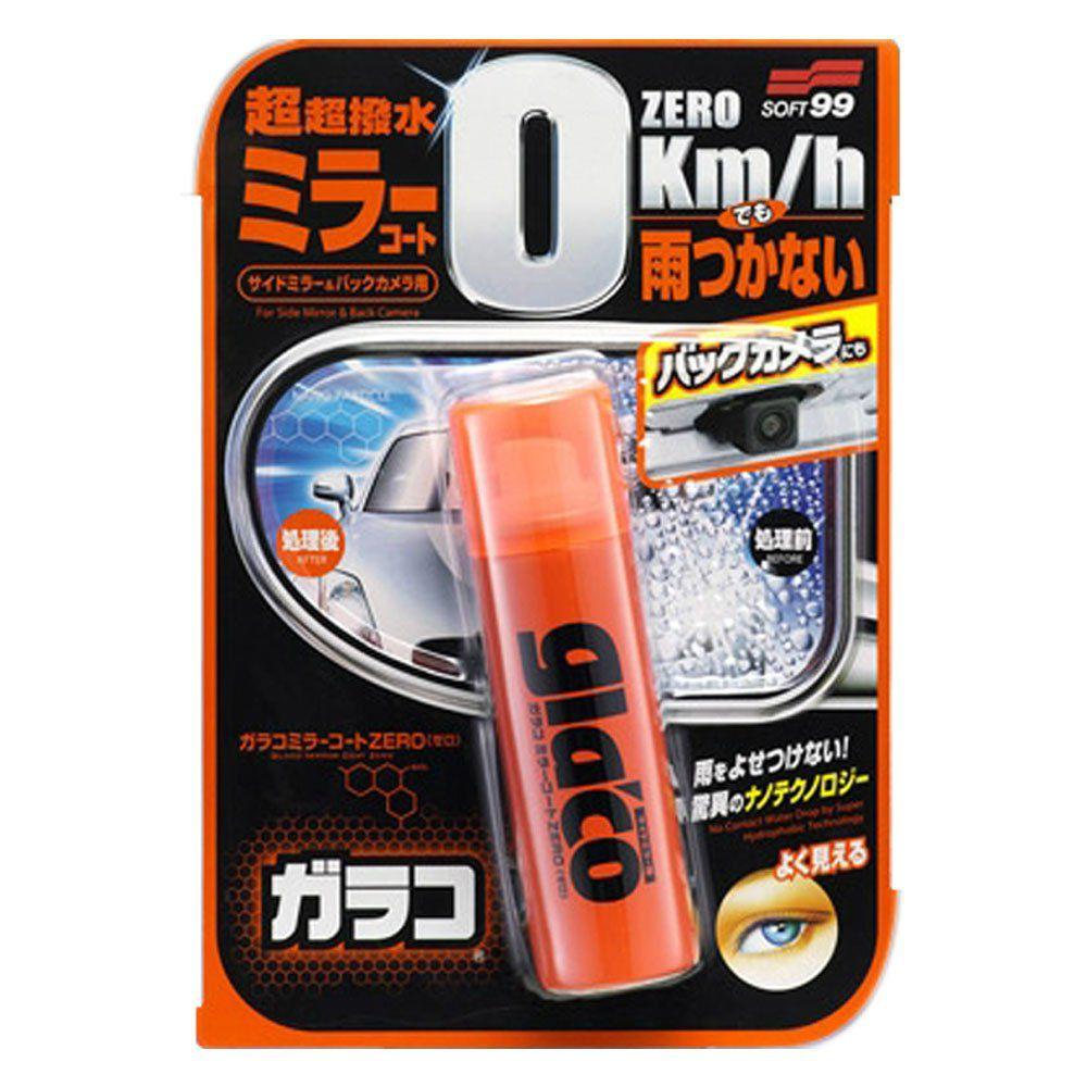 Kit 3 Repelente de Agua Glaco Mirror Coat Zero 40ml Soft99