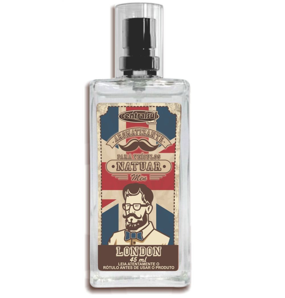 Kit Aromatizante London 45ml+Aromatizante America 45ml Centralsul