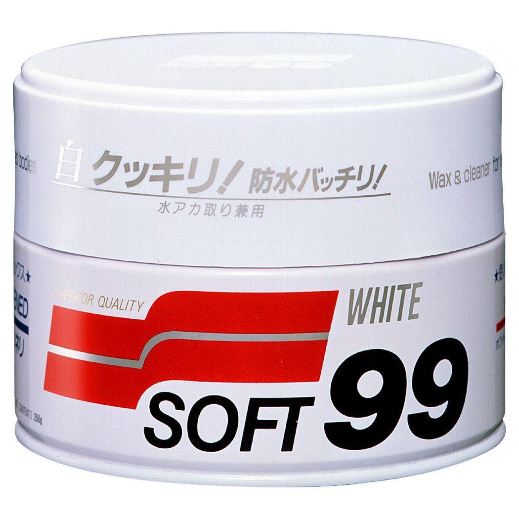 Kit Cera Carnaúba White Wax Cleaner+ Rejuvex 400g