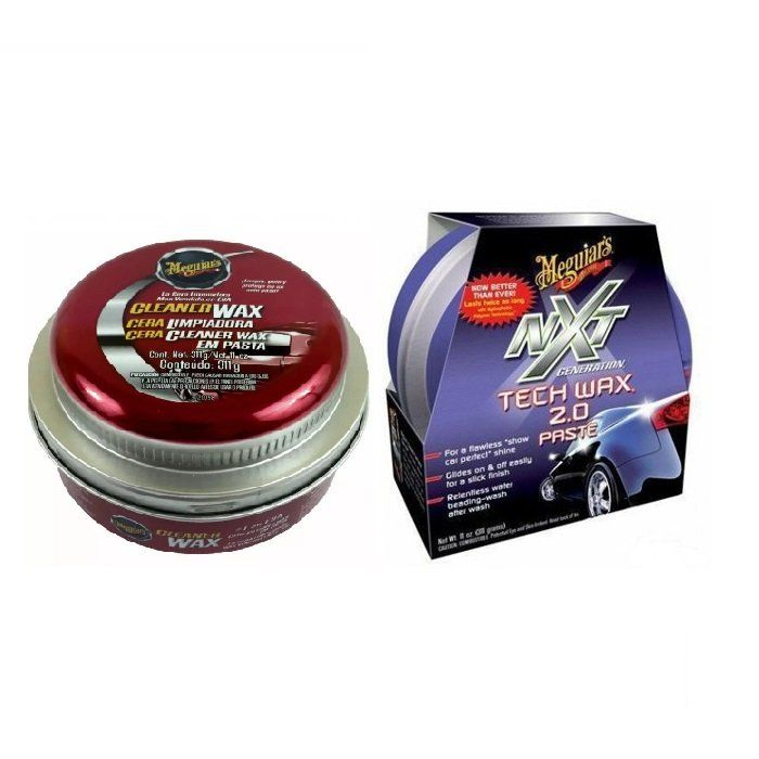 Kit Cera Cleaner Wax Paste Meguiars A1214 + Cera NXT 12711 Meguiars
