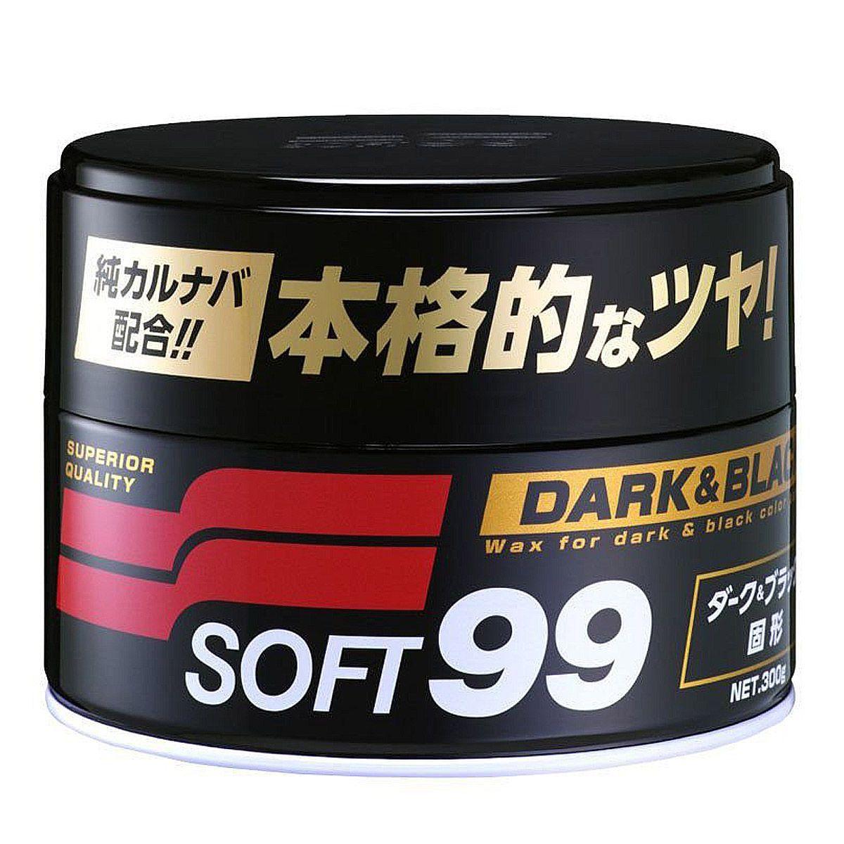 Kit Cera Dark e Black+Espuma+Flanela+Clay Bar
