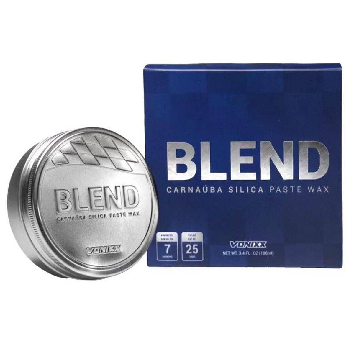 Kit Cera Paste Blend +Pneu Pretinho+Rejuvex Vonixx