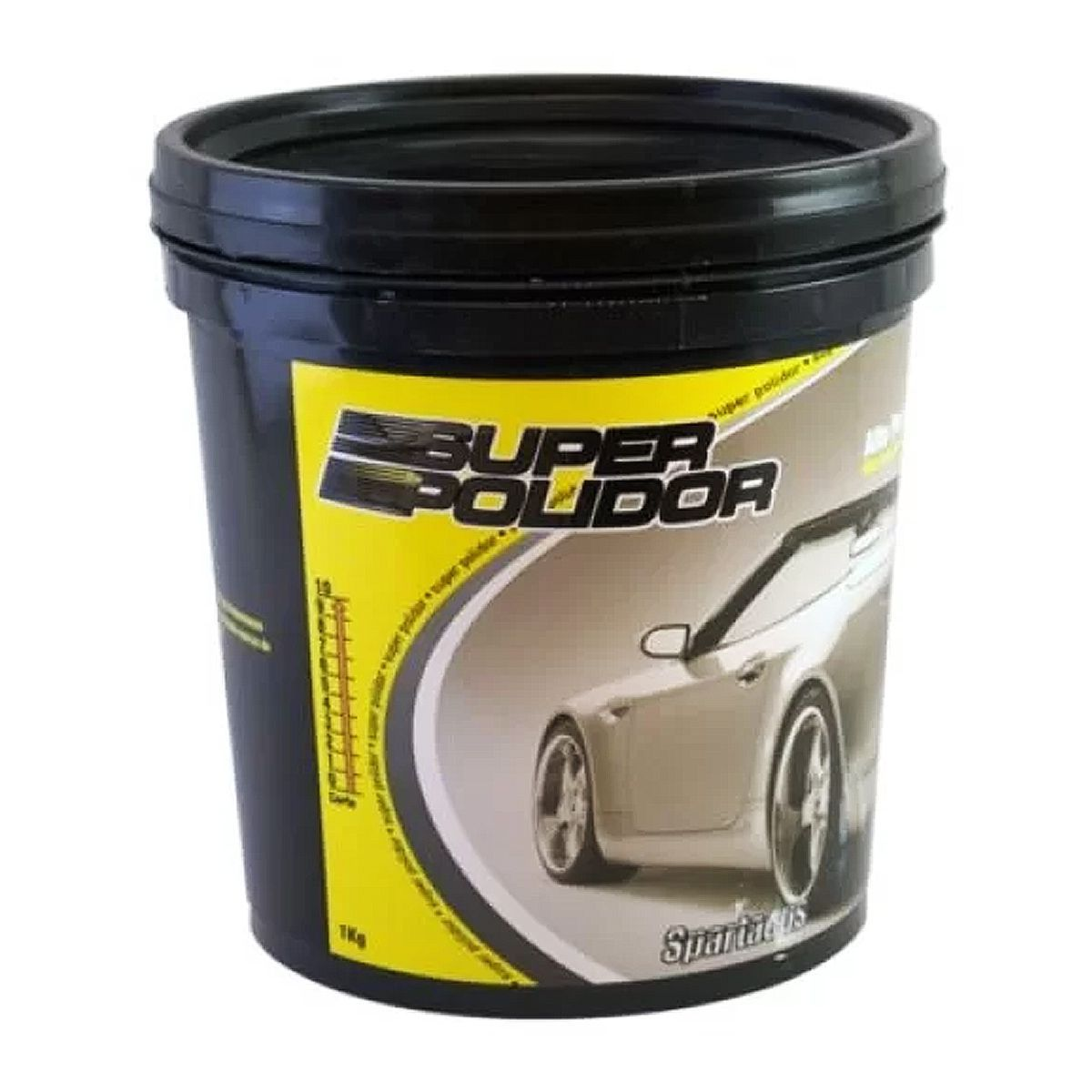 Kit Com 12 Super Polidores Spartacus Autoamerica 1Kg