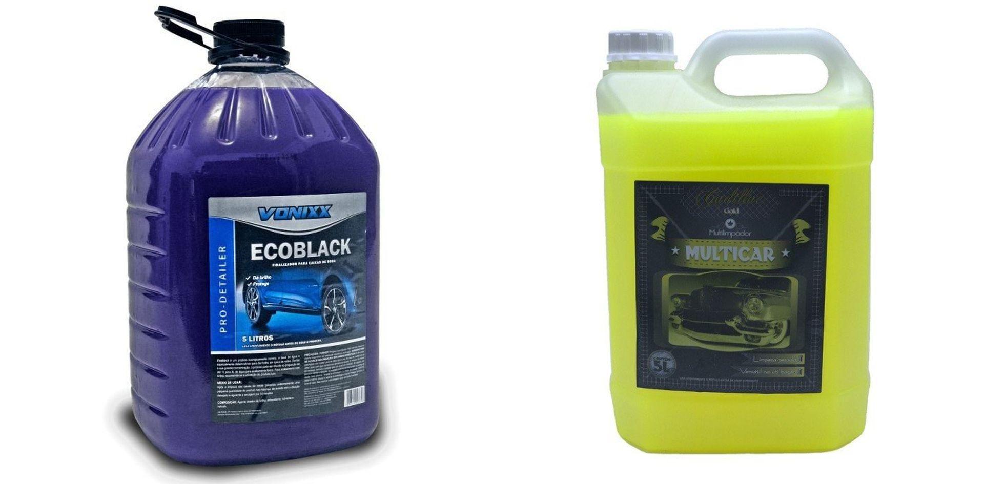 Kit Ecoblack + Multilimpador Multicar Apc
