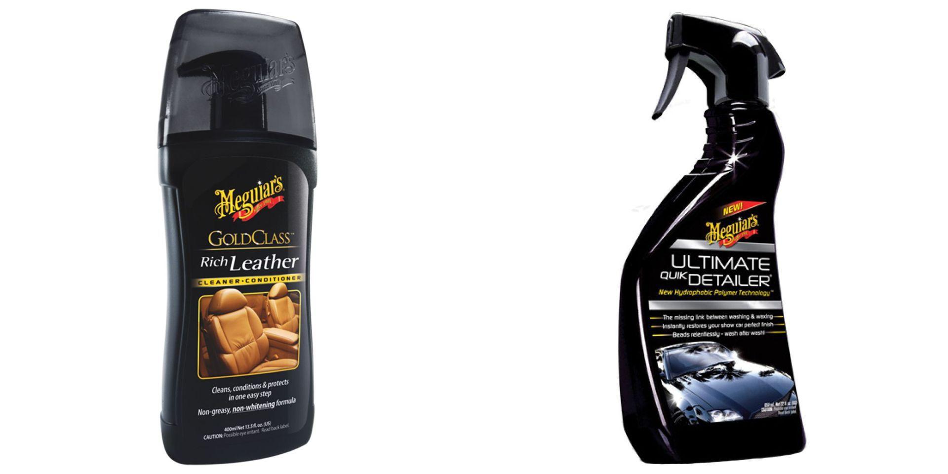 Kit Hidratante Class Rich Leather, Abrilhantador Ultimate Quik Detailer