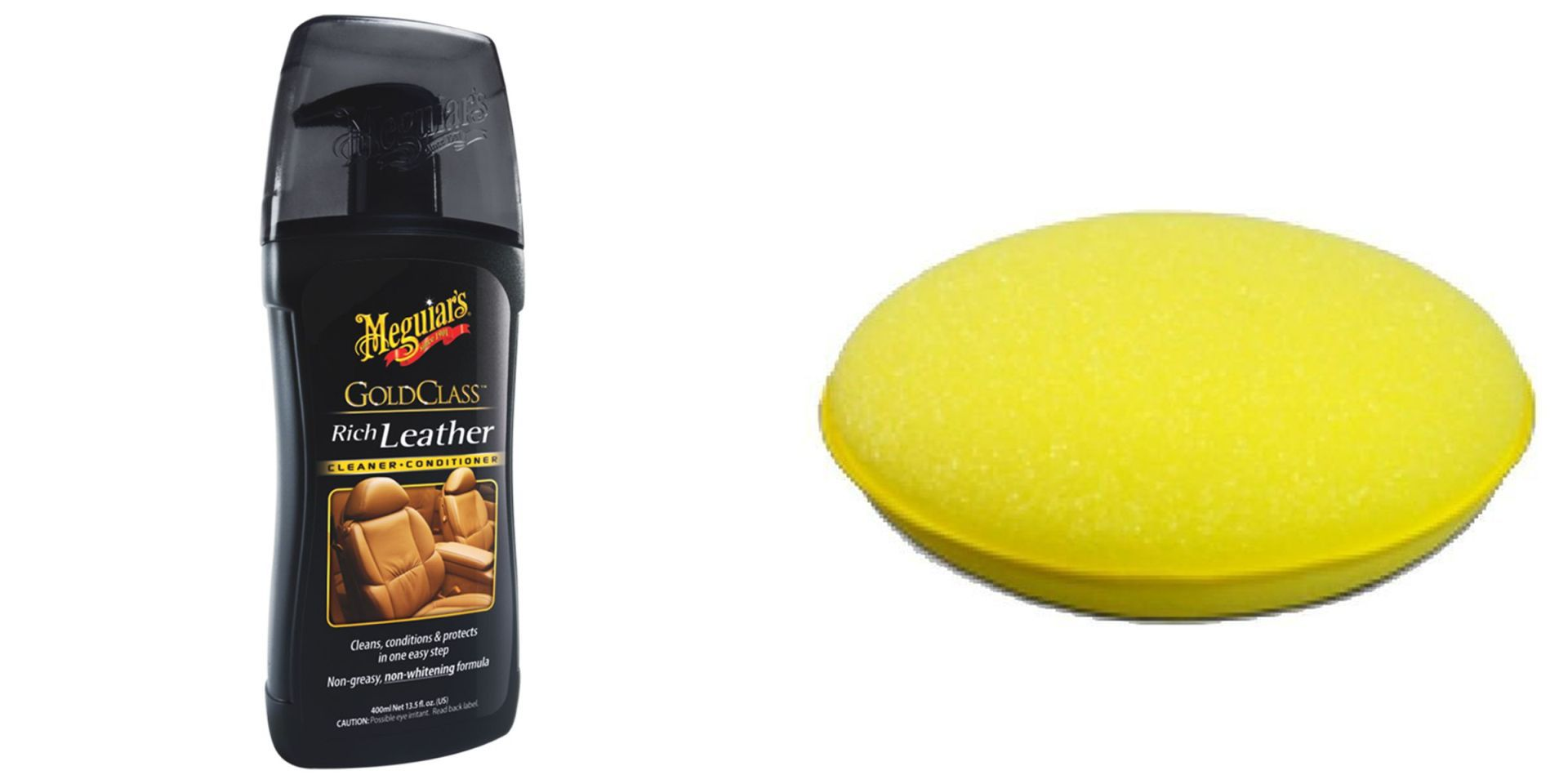 Kit Hidratante Gold Class Rich Leather, Espuma Aplicadora