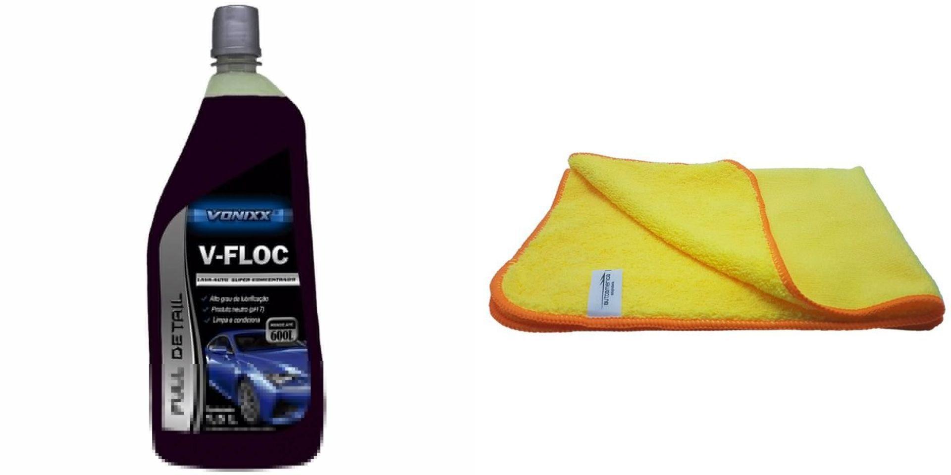 Kit Lava-Auto V-Floc + Flanel 60x40